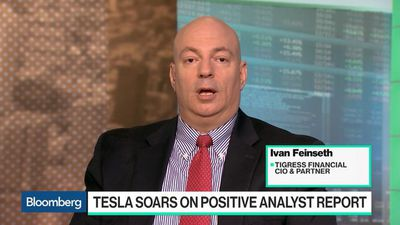 Bloomberg Technology - Tigress CIO Says Overhang of Concern Around Tesla Has Been Lifted