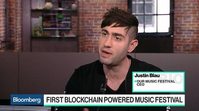 Bloomberg Technology - The First Blockchain-Powered Music Festival