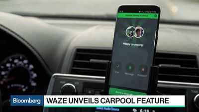 Bloomberg Technology - Waze CEO Doesn't Expect to Be Taking On Uber or Lyft