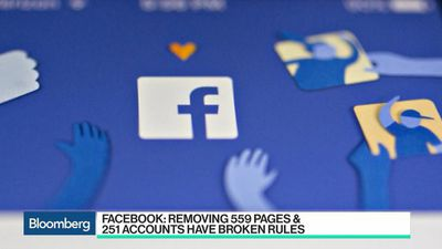 Bloomberg Technology - Facebook Pulls Accounts, Pages Spreading Fake News