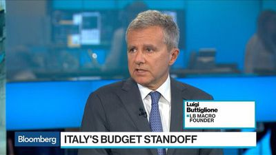 Bloomberg Surveillance - Italy Faces Unavoidable European Commission Fight, Buttiglione Says