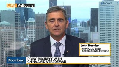 Bloomberg Daybreak: Australia - Australia-China Business-to-Business Relationship 'Strong,' ACBC's Brumby Says