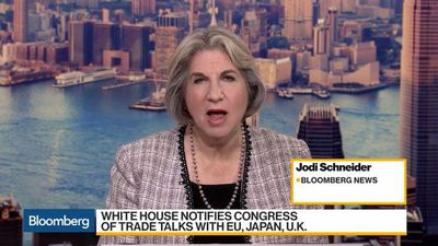 Bloomberg Daybreak: Asia - White House Notifies Congress of Trade Talks With Japan, Europe, UK