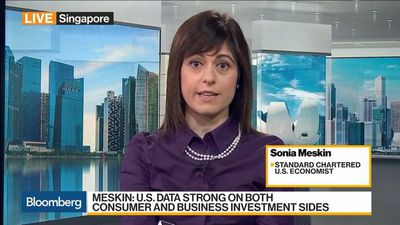 Bloomberg Daybreak: Asia - U.S. Economy Can Withstand Higher Rates, Says StanChart's Meskin
