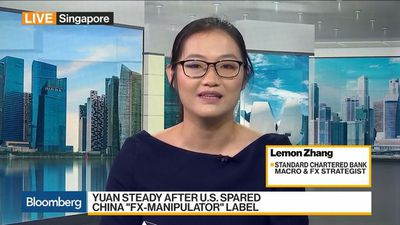 Bloomberg Daybreak: Asia - StanChart's Zhang Sees USD-CNY at 6.92 by End of the Year