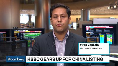 Bloomberg Surveillance - HSBC Gears Up for China Listing Through Shanghai-London Link