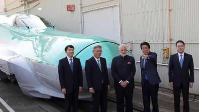 India's $15B Bullet Train Project Hits a Speed Bump