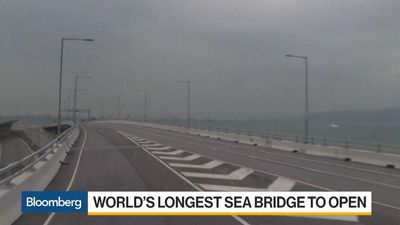 Bloomberg Daybreak: Asia - China Brings Hong Kong Closer With World's Longest Sea Bridge