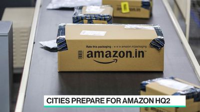 Bloomberg Technology - Why Amazon HQ2 Arrival Might Not Be So Great for Commuters