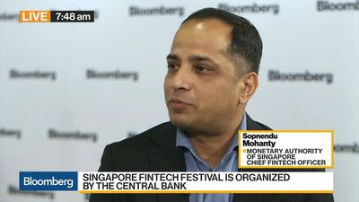 Bloomberg Daybreak: Asia - MAS's Mohanty Says Singapore Banks Are Catching Up on Fintech
