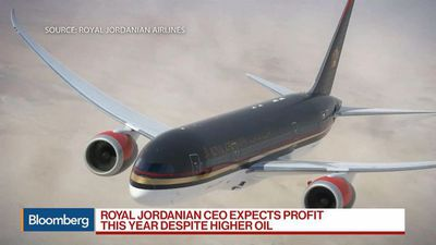 Royal Jordanian Airlines Expects Profits This Year Despite of Higher Oil, CEO Says