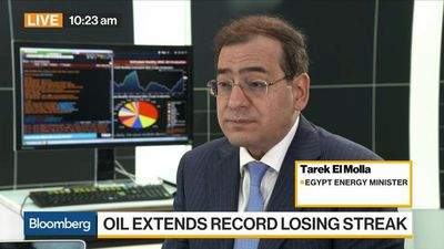 Bloomberg Daybreak: Europe - We Need Egypt to Reach Self-Sufficiency Fast, Says Energy Minister