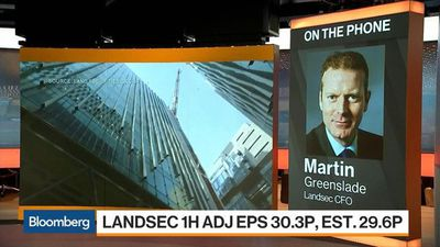 Bloomberg Markets: European Open - Landsec CFO on 1H Earnings, Brexit, Future of Real Estate
