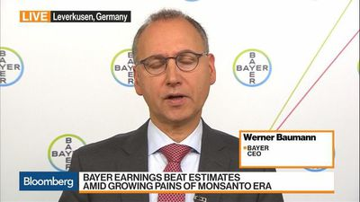 Bloomberg Markets: European Open - We Are Optimistic for the Business Overall, Says Bayer CEO