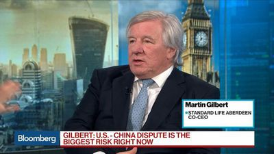 Bloomberg Surveillance - Markets to Be Difficult Next Year, Standard Life Aberdeen's Gilbert Says