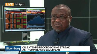 Bloomberg Surveillance - NNPC's Baru Says 'Very Much' Support Saudi Oil Production Cut