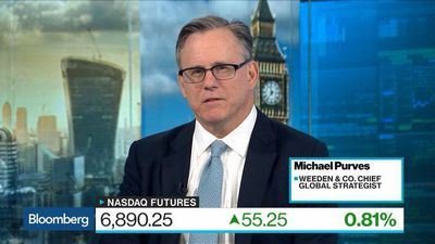 Bloomberg Surveillance - U.S. Equities Won't Rise Without Tech, Weeden's Purves Says