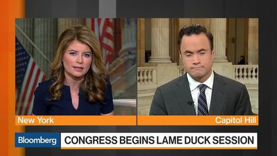 Bloomberg Markets - Government Funding Tops Contentious To-Do List in Lame Duck Session