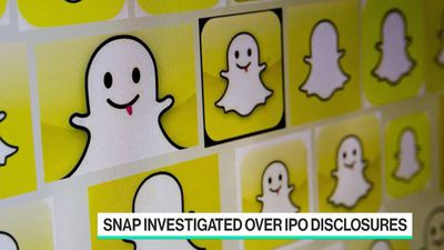 Bloomberg Technology - Snap Falls Amid Investigations of IPO Disclosures