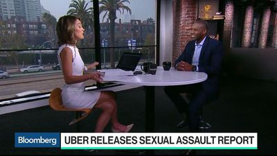 Bloomberg Technology - Uber CLO West Says Goal Is a 'Safer Platform'