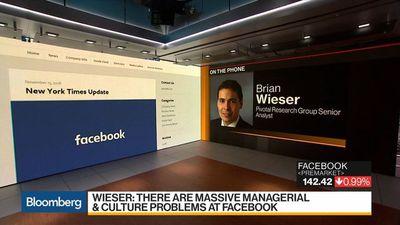 Bloomberg Daybreak: Americas - Facebook Analyst Wieser Sees 'Massive' Managerial, Cultural Problems