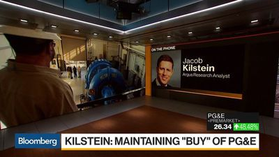 Bloomberg Daybreak: Americas - Why PG&E Analyst Kilstein Maintained a 'Buy' Rating