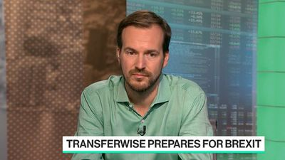 Bloomberg Technology - Transferwise Benefiting From Brexit Volatility, Co-Founder Hinrikus Says