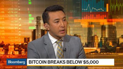 Bloomberg Daybreak: Asia - Bitcoin Breaks Below $5000, Down 75% From Record High