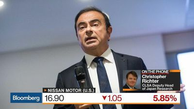 Bloomberg Markets: Asia - Ghosn Arrest May Create Conflict Between Nissan and Renault, CLSA's Richter Says