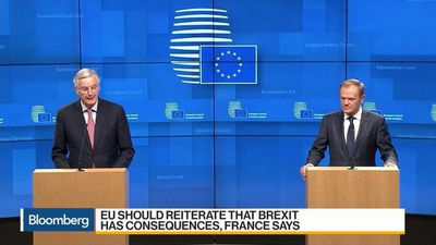 Bloomberg Daybreak: Europe - France, Germany Said to Warn EU Not to Let U.K. Claim Victory