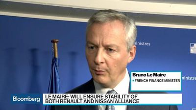 France's Le Maire Says He'll Ensure Stability at Renault