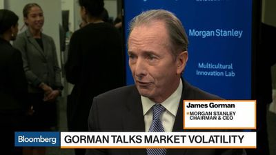 Morgan Stanley Can Handle the Market Correction, CEO Gorman Says