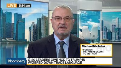 Bloomberg Daybreak: Australia - Maybe a Bit Early to Call G-20 Agreement a Win for Trump, Fmr. U.S. Ambassador Says