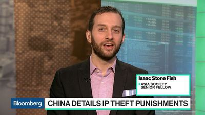 Bloomberg Technology - China Announces Punishments for Intellectual-Property Theft