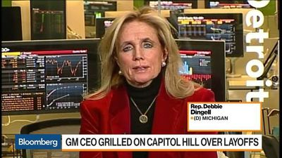 GM Plant Closings Are Disturbing, Rep. Dingell Says