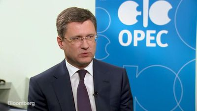 Russian Oil Minister Novak on OPEC Output Cut, Iran Sanctions