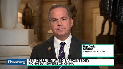 Bloomberg Technology - Rep. Cicilline 'Disappointed' With Pichai's Answers on China
