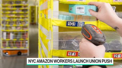 Bloomberg Technology - Why NYC Amazon Workers Want to Unionize