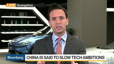 Bloomberg Daybreak: Asia - China Is Said to Slow Tech Ambitions
