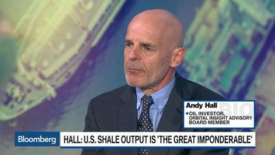 Andy Hall: U.S. Shale Output is 'The Great Imponderable'