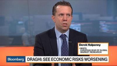 Bloomberg Markets: European Open - French Economy Sinks, Reinforcing ECB's`Downside' Risk Warning