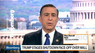 Rep. Issa Says Border Wall May Be Worth a Partial Shutdown