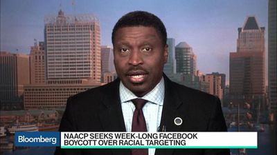 Bloomberg Technology - Why the NAACP Returned Facebook's Donation