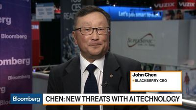 Bloomberg Markets - Blackberry CEO on Data Security, AI Threats, 5G