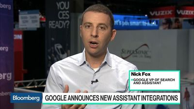 Bloomberg Technology - Google Adding Digital Assistant Updates for Home Use