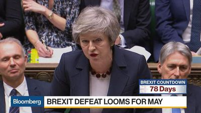 Bloomberg Daybreak: Europe - Brexit Defeat Looms for May