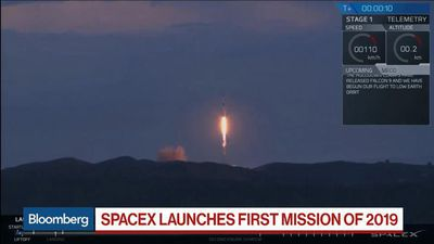 Bloomberg Markets - SpaceX Launches First Mission of 2019