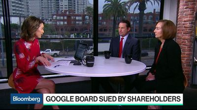 Bloomberg Technology - Google Board Sued for Hushing Claims of Executive Misconduct