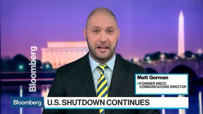 Bloomberg Surveillance - Border Wall Stalemate Stretches Government Shutdown to 24 Days
