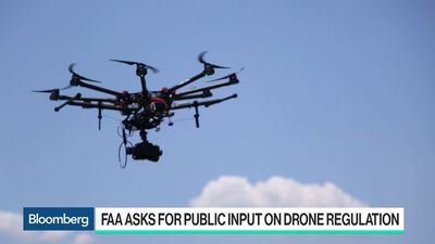 Bloomberg Technology - FAA Proposal Allows Drone Flights Over Crowds, at Night